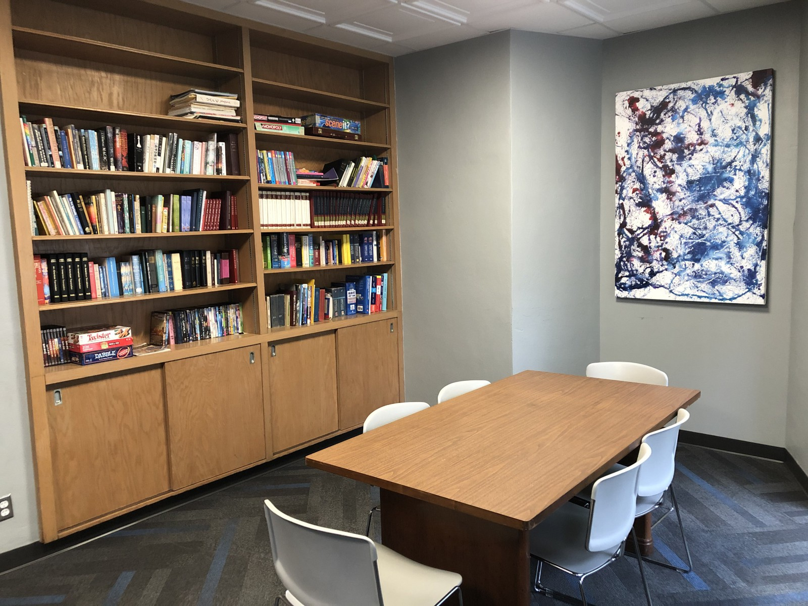 Moeller Study Area/Meeting Room